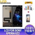 ЖК-дисплей 5,7 дюйма для Sony Xperia XZ2 H8216 H8266 H8276 H8296, сменный сенсорный экран с цифровым преобразователем в сборе для Sony XZ2 LCD