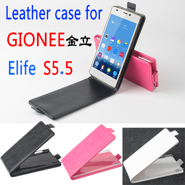 Gionee Elife S5.5 Case, New High Quality Genuine Filp Leather Cover Case For Gionee Elife S5 5 case