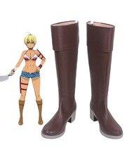Shokugeki no Soma Ikumi Mito Cosplay Boots Shoes Custom Made