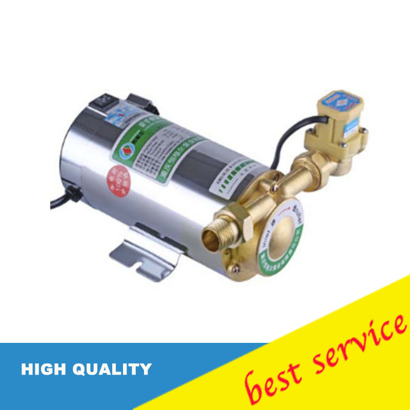 100W Pipeline Pump Automatic Circulating Water Pump 220V/50HZ Electric Water Pressure Booster Pump Boosting Pump 220v automatic self priming boost pressure 100w household water heater circulating pump high pressure shower booster water pump