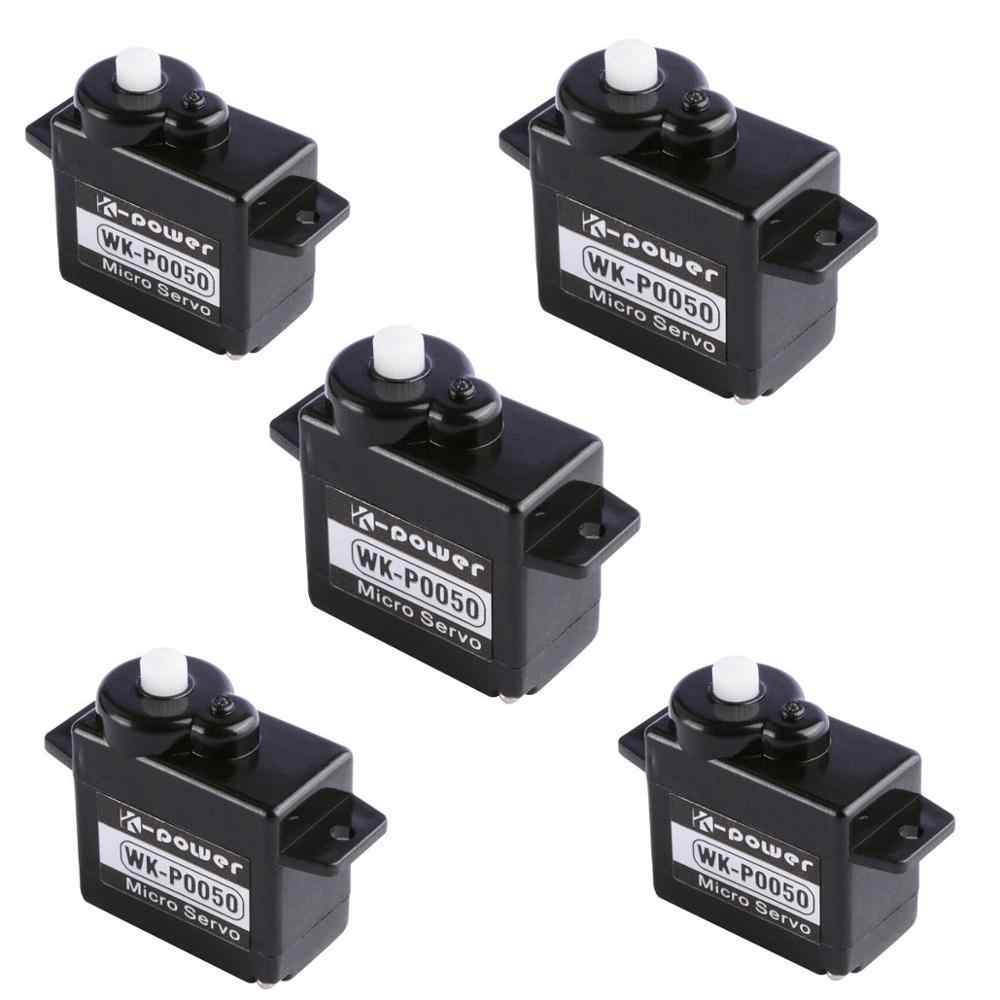 5 Pcs K-Power P0050 Analoge Servo 5G Plastic Gear Coreless Servo Mini/Micro Servo Voor Rc vliegtuig/Rc Hobby