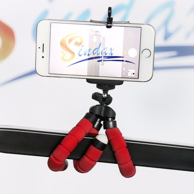 Sponge Flexible Octopus Tripod with Phone Holder Tripod For Phone For iPhone for Samsung for Huawei for Xiaomi Smart Mobile