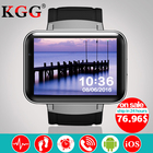 DM98 Smart watch MTK6572 Dual core 2.2 inch touch screen 900mAh Battery 512MB Ram 4GB Rom Android 4.4 OS 3G WCDMA GPS WIFI