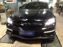 W218 Carbon Fiber Front  Lip  Spoiler For CLS Class CLS63 10-14 Of The CS Style (Fit AMG Or Sport Bumper)