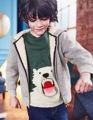 New 15 styles Children boys polar bear printing Terry pullover Hoody kids Long sleeve sportswear Wholesale 2017