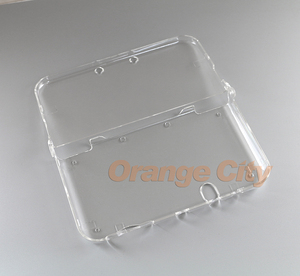 Image 4 - ChengChengDianWan прозрачный жесткий прозрачный чехол, защитный чехол для нового 3DS XL/LL NEW 3dsxl 3dsll, кристальный протектор, 20 шт.