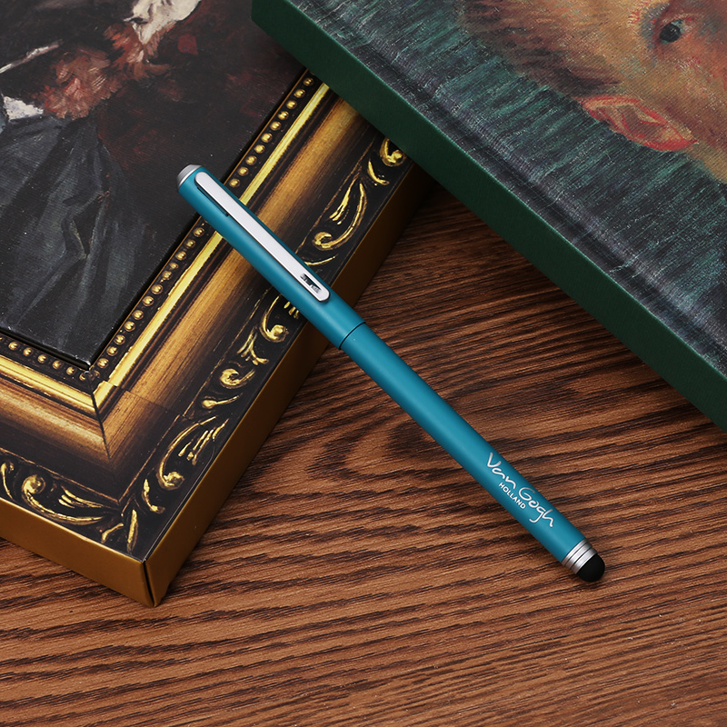The British Museum X M&G Van Gogh Painting Series Metal Gel Pen 1PCS british museum around the world colouring book