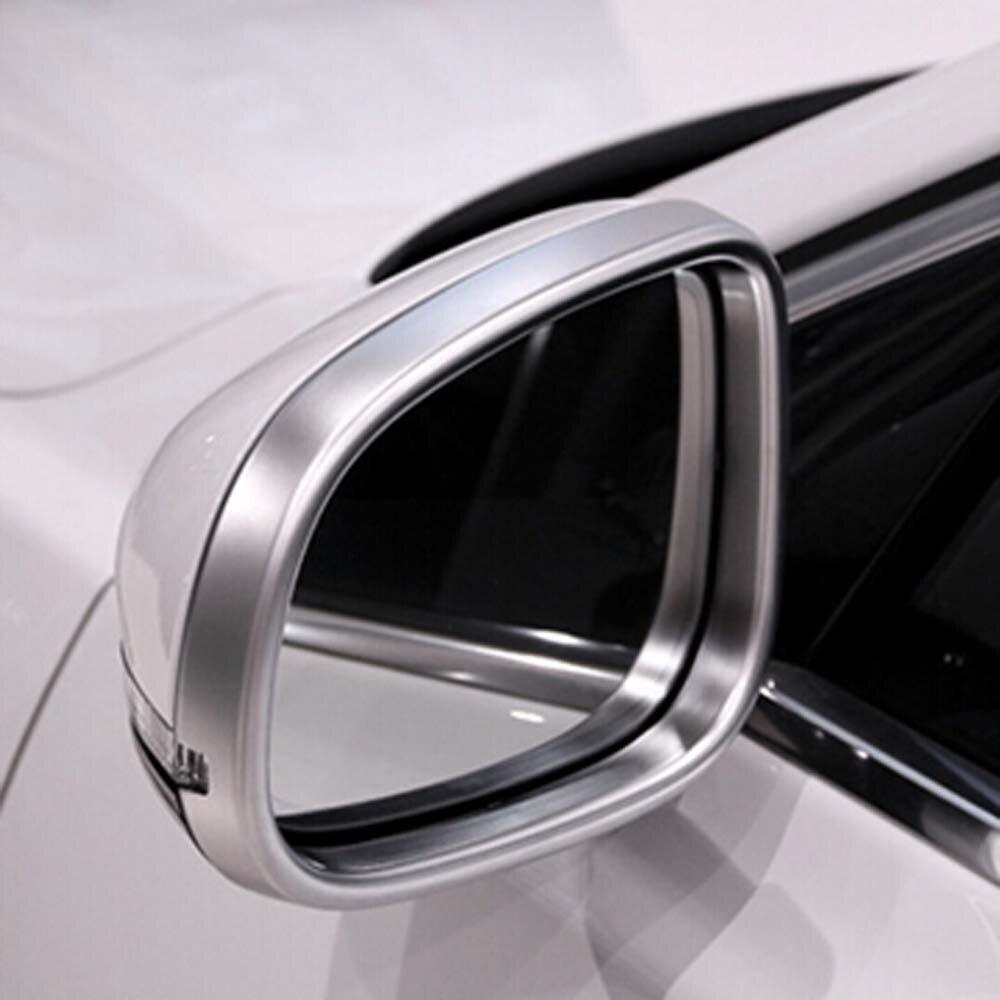 Notre rétroviseur de porte latérale rétroviseur décoratif garniture cadre autocollant pour jaguar xe xf xj accessoires extérieurs