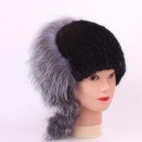 Mink Fur Grass Ma Am Hats Autumn And Winter Manual Sew High Archives Keep Warm Fox