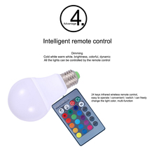 Buy 8 11 W LED Multicolor Smart Light Bulbs Cellphone WiFi Voice Control RGB Energy Saving Dimming Bulb work with Alexa Google Home directly from merchant!