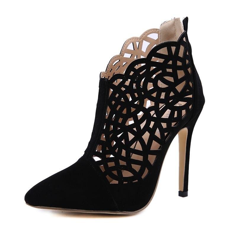 Brand Design women's sandals stilettos high heels sandals 1