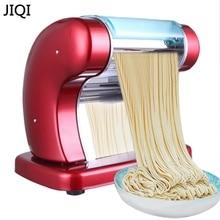 JIQI 220 в 60 Вт электрическая лапша машина много форм клецки обертка/различные лапши производитель макаронных изделий бытовой полностью автоматический