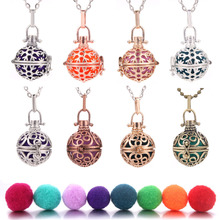 1pc 70cm Vintage Aromatherapy Perfume Essential Oils Diffuser Necklace Locket Pendant Dream Catcher Viking