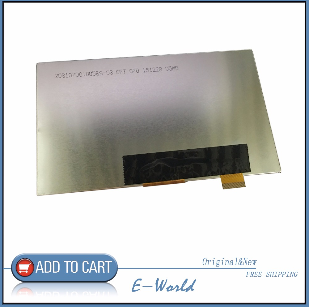 Original WJWS070100A 7inch 30pin 164*97mm IPS LCD display screen For Irbis TZ70 irbis hit tz49 TZ45 TZ56 tablet free shipping image