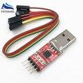 1 pcs CP2102 módulo USB para TTL UART serial cabo de download STC PL2303 Super Escova de atualização de linha para arduino (VERMELHO)