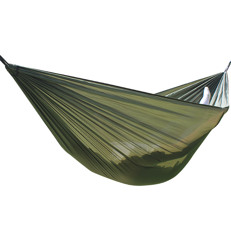 Hammock Portable Parachute Nylon Fabric Travel Ultralight Camping Double Wide Outdoor Travel Suspension