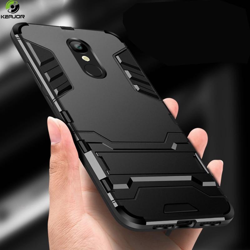 Case For xiaomi redmi 5 plus case Design Armor Shockproof Hybrid Hard stand Back case for Innrech Market.com