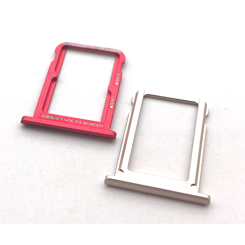 10Pcs/Lot, For Xiaomi Mi 6X Sim Tray Holder Sim Card Reader Tray Socket Slot Holder Replacement