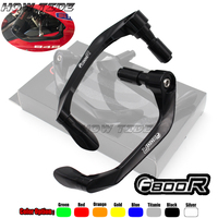 Universal 7/8 22mm Motorcycle Handlebar Brake Clutch Levers Protector Guard For BMW F800R F 800R 800 R