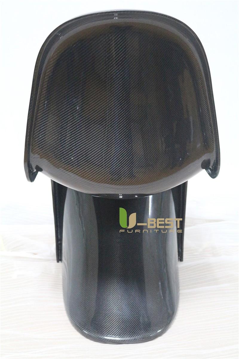 Carbon fiber panton s chair u-best carbon fiber dining chair (3)