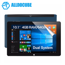 """10.1"""" IPS 1920*1200 Cube iwork10 ultimate Dual Boot Tablet PC Windows10 + Android 5.1 Intel Atom X5 Z8300 Quad Core 4GB 64GB Rom"""