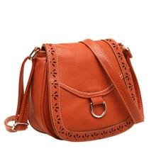 2017 hot new arrival  women hollow out crossbody designer bags cutout women vintage bag postman purses shoulder bags