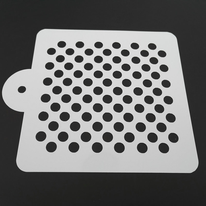 5 Inch Polka Dot Cake Stencil Cake Decoration Baking Tools for Cakes Kitchen Accessories