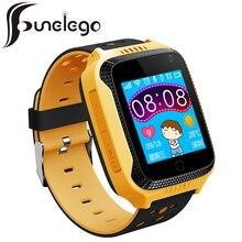 Q42 Funelego 2017 Nuevos Niños Perseguidor de Los GPS Reloj Teléfono de Pantalla Táctil Relojes Reloj Soporte de Tarjeta SIM Reloj Inteligente Para Los Niños