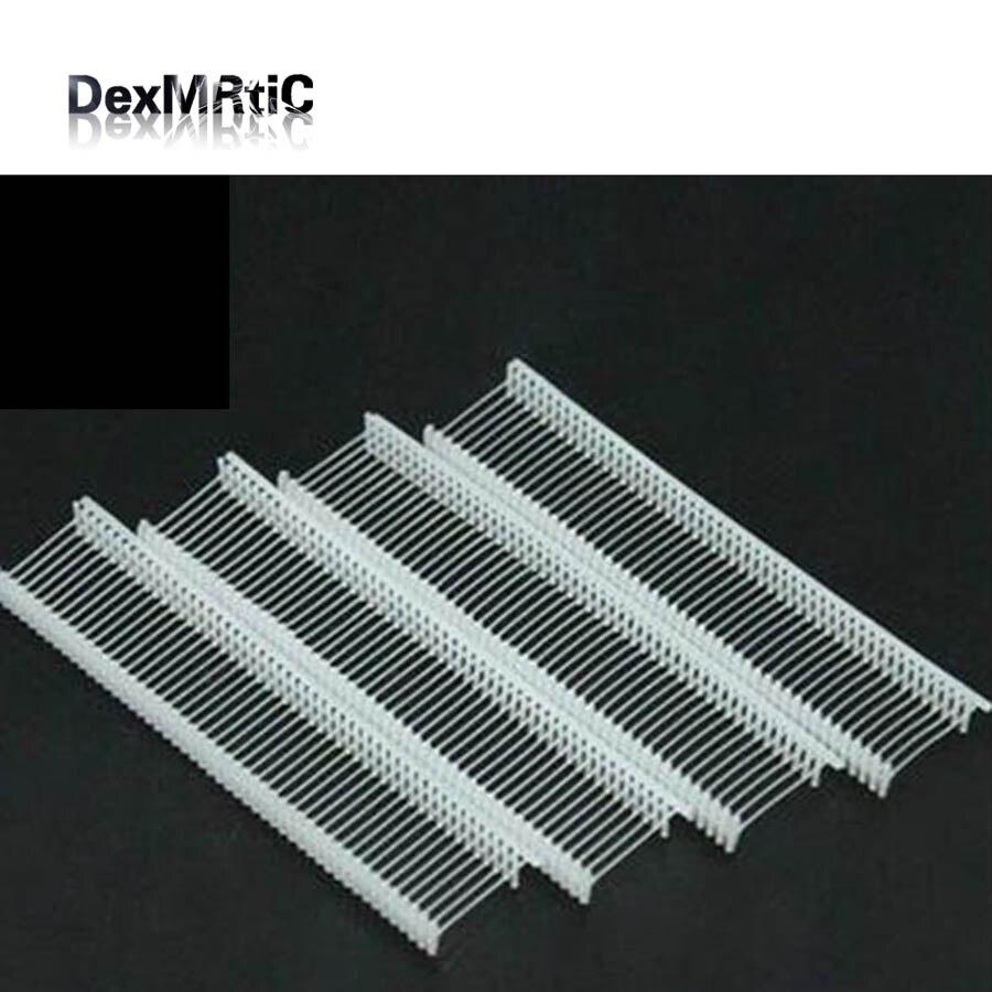 5000pcs/case plastic question mark pins for Tag Gun 25mm sock cap tagging pins