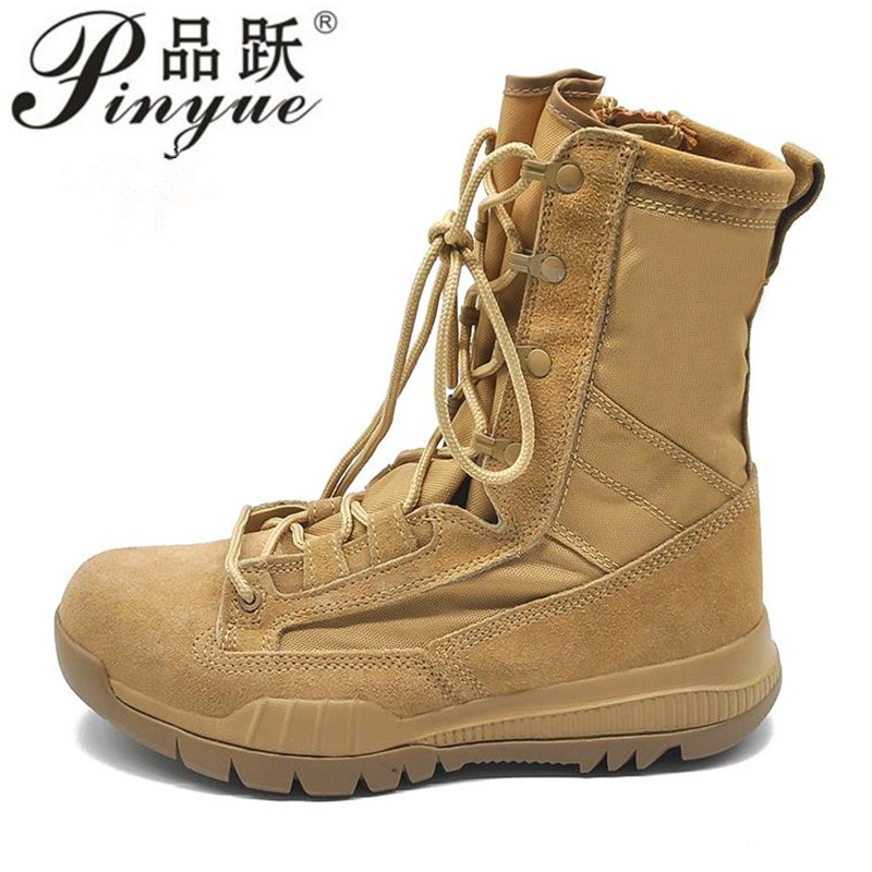 Spring  Fashion Style Comfortable Cow suede desert combat boot Ankle-up army boots with zipper size 37--45Spring  Fashion Style Comfortable Cow suede desert combat boot Ankle-up army boots with zipper size 37--45
