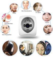 2019 Новый интеллектуальный анализатор кожи / Волшебное зеркало для анализа лица Цифровые технологии Лучший!
