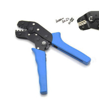 High Quality Crimping Pliers Cable Clamp Crimper Press Tool Terminal Wire Cutter 0 1 1 0mm2