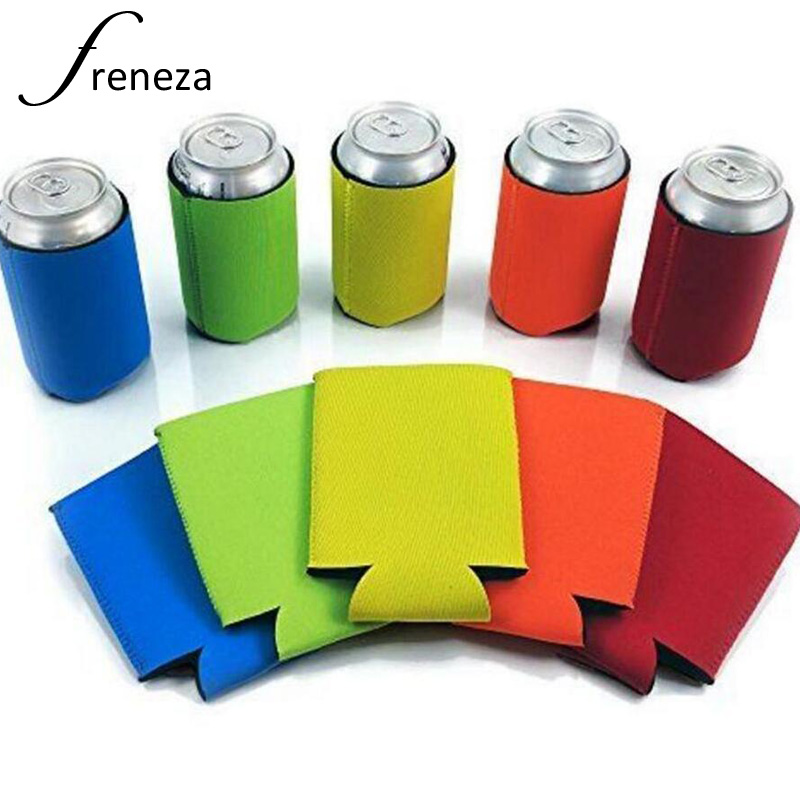 Can Cooler Sleeves Beer Coolies For Cans And Bottles Cozy Bulk Blank Drink Coolers  DIY Custom Wedding Favor  Funny Party Gift