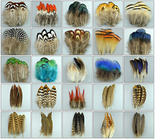 New 50pcs Beautiful Natural Rooster birds feathers peacock plumas de colores