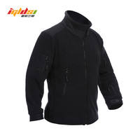 Men Thicken Warm Military Army Fleece Tactical Jacket Patchwork Multi Pockets Polartec Mens Brand Camouflage Winter
