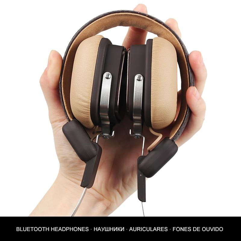 Wireless Headphone Bluetooth Headset Headphones Bluetooth 4.1 Metal Stereo Wireless Headphones With Mic For iPhone Xiaomi Phone 1