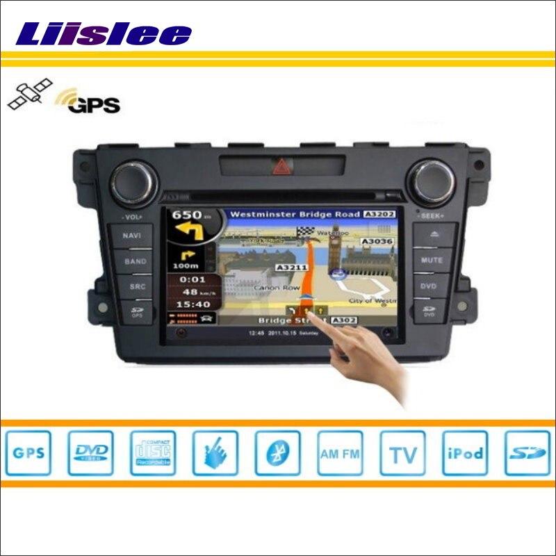 Liislee voiture Android multimédia pour Mazda CX7 CX 7 CX-7 2007 ~ 2012 Radio lecteur CD DVD GPS Navi carte Navigation vidéo système stéréo