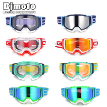 BJMOTO Motorcycle Goggles MX Off Road Motocross Glasses Snow Ski Sunglass Bike Racing anti-uv Eyewear Helmets gafas