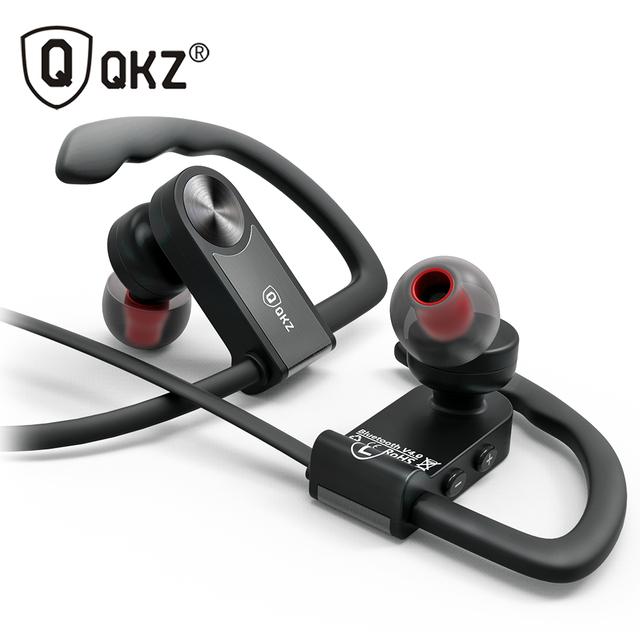 Auricular bluetooth deporte inalámbrico qkz qg8 hifi auriculares de música estéreo inalámbrico para iphone samsung xiaomi fone de ouvido