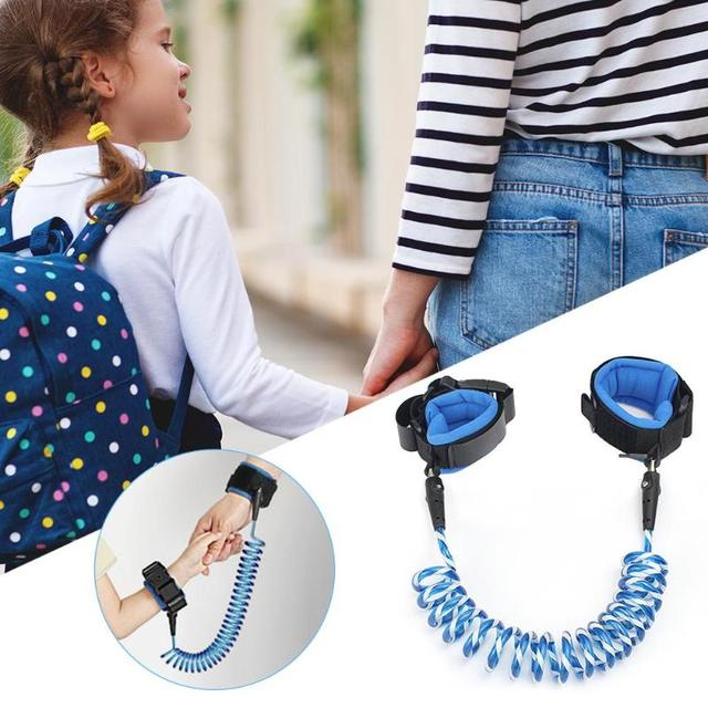 1.5/2/2.5M Baby Anti Lost Wrist Strap Rope Parent-child Outdoor Walking Hand Belt Kids Safety Anti-lost Wristband Toddler Leash 3