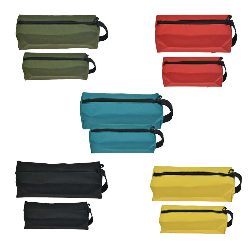 Electrician Waterproof Oxford Car Repair Hardware Storage Tool Bag Pouch Pocket Large Capacity Fishing Makeup Organizer Toolkit