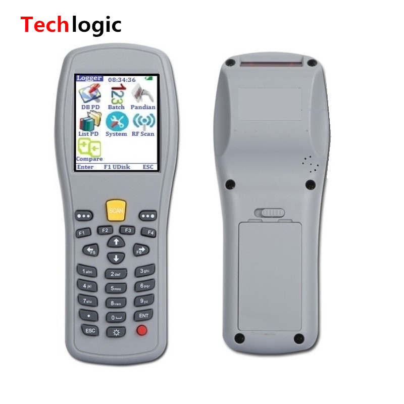 Techlogic X5 Wireless Barcode Scanner Bar code Handheld Terminal PDA ...