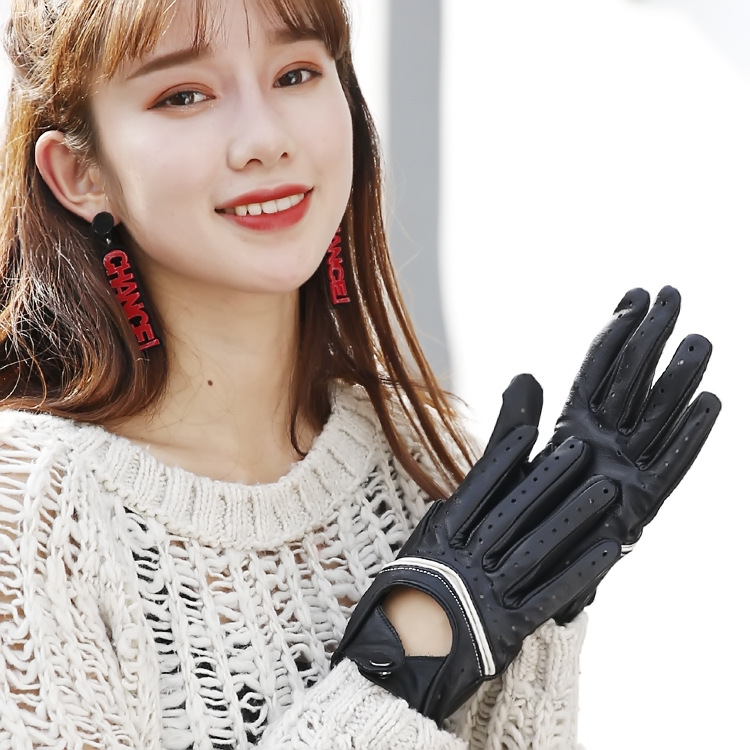 Accessoires d'hiver Nouveau automne et gants d'hiver rétro gants Hommes et Femmes Moitié gants demi doigts