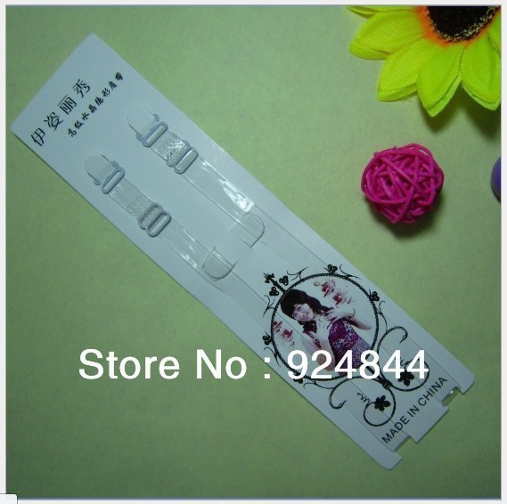 According to Tzu Korea show high elastic invisible transparent straps underwear bra strap shoulder width 1CM Wholesale