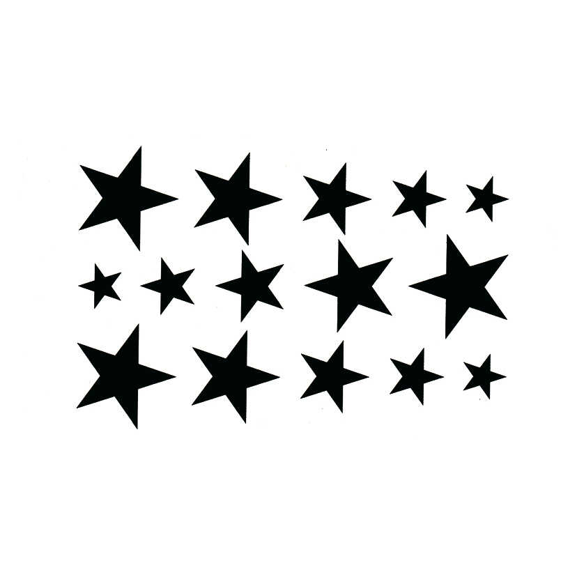 Black Star Waterproof Temporary Tattoos Men Sticker Sexy Product Car Styling Henna Tattoo Harajuku Tatuagem Tatoo Stickers Tatoo Sticker Men Stickerstattoo Harajuku Aliexpress