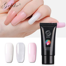 Gelike 30g Poly Gel 3 Colors Builder Fast Dry Nail Art Design Extention Natural Hard Jelly Acrylic