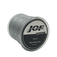 8STRANDS 500M JOF Brand Super Strong Japan Multifilament PE 8 Braided Fishing Line 15 20 30