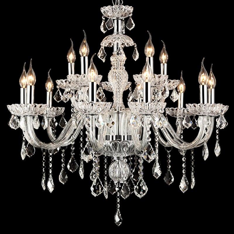 Popular bohemian glass chandelier buy cheap bohemian glass for Hope lampadario