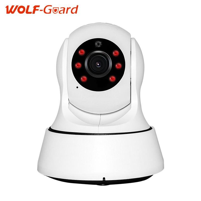 imágenes para Cámara 720 P HD Wifi Cámara de Red IP Cámara de Vigilancia Con Versión de La Noche de USB Cargador de Interior P2P Cctv del Hogar