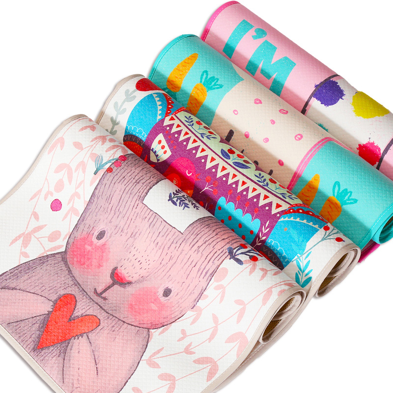 Cartoon Baby Changing Pad 3 Layers Diapers For Newborns Protable Changer Mattress In Stroller Waterproof Changing Mat For Infant